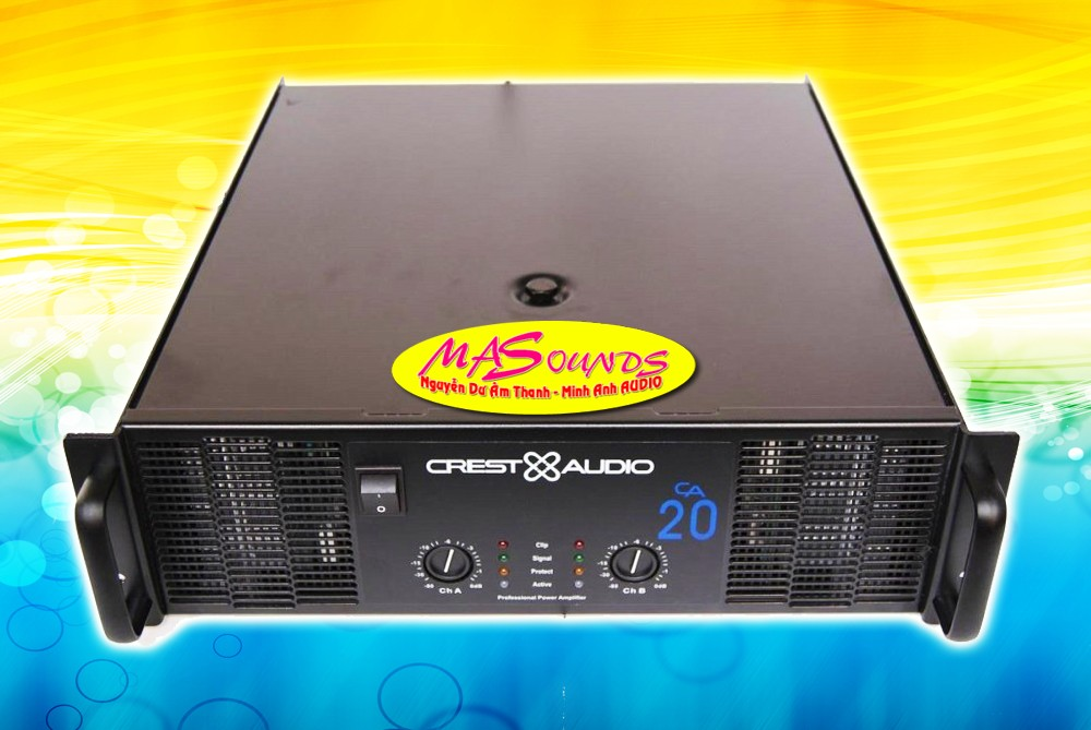 Main CA20 Crest Audio 1300W X2
