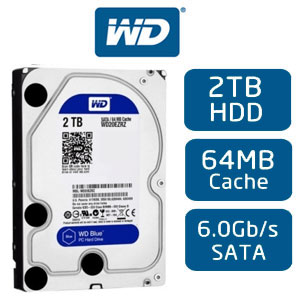 ổ cứng HDD Western Blue 2TB 64MB cache Sata 3