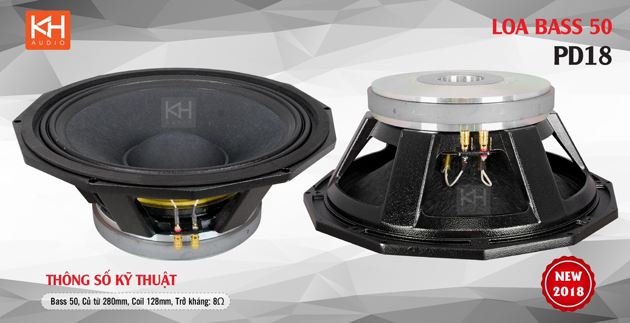 BASS LOA SUB 50 RCF PD18 280-125