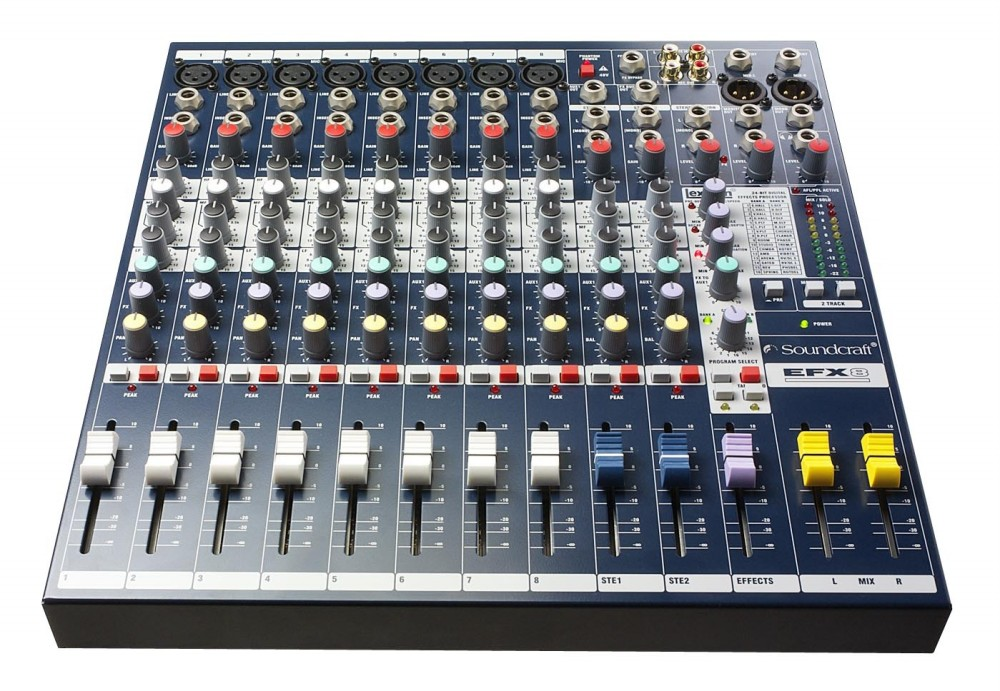 Mixer Soundcraft EFX 8/2