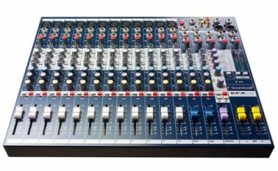 Mixer Soundcraft EFX 12/2